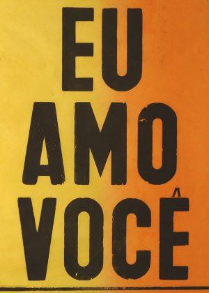 """poster """"eu amo voce""""-0"""